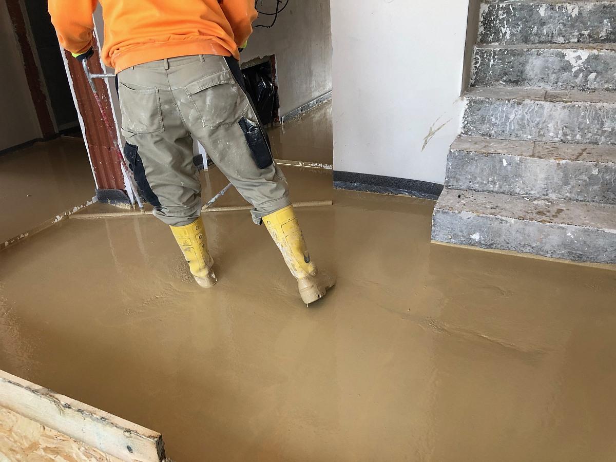 Vylití podlahy