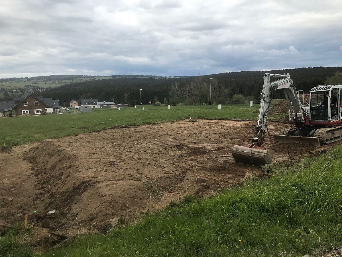 Příprava pozemku