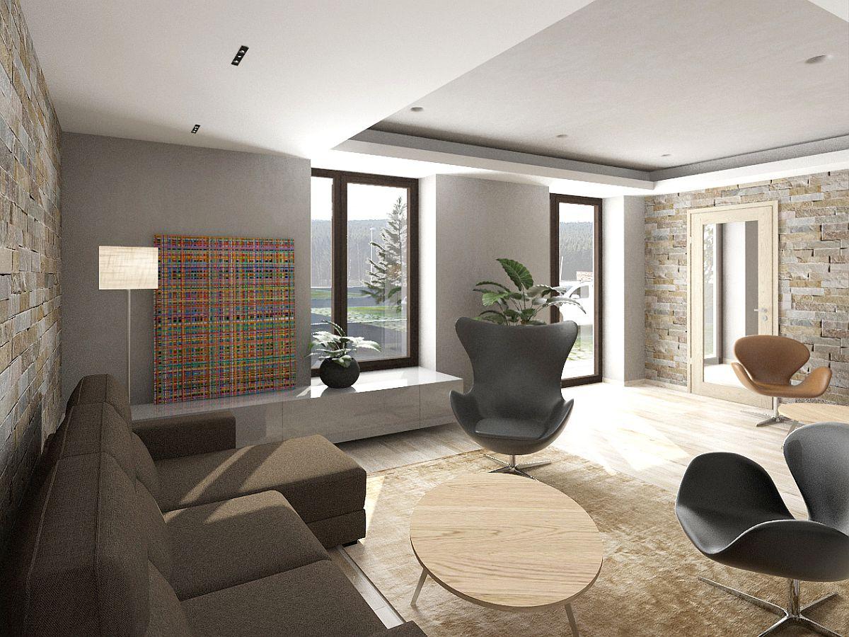 Vizualizace - Foyer (společné prostory)