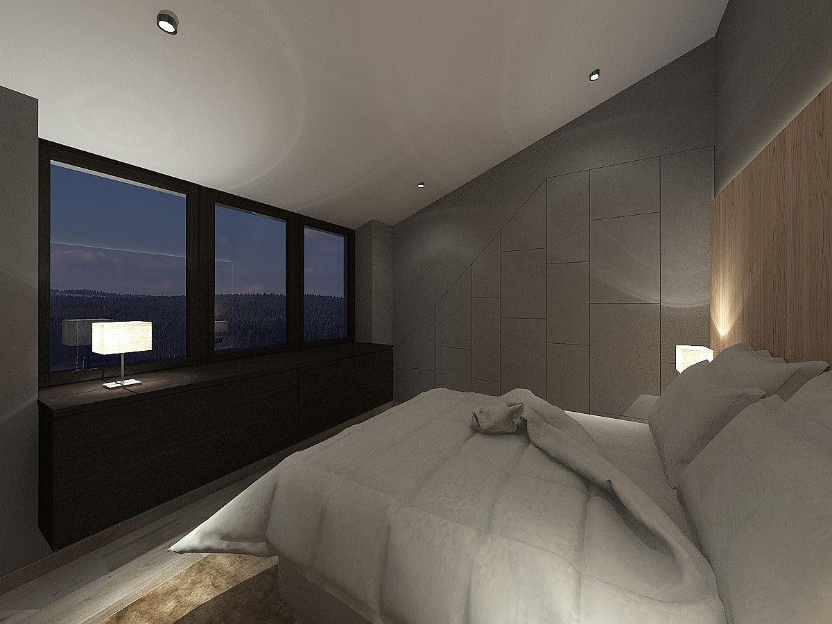 Vizualizace ložnice